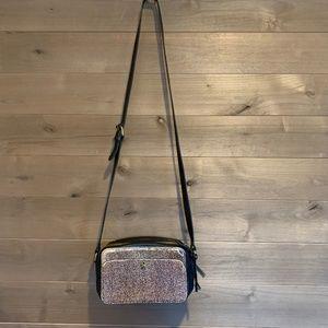 MADEWELL Spotted Calf Hair Crossbody Camera Bag